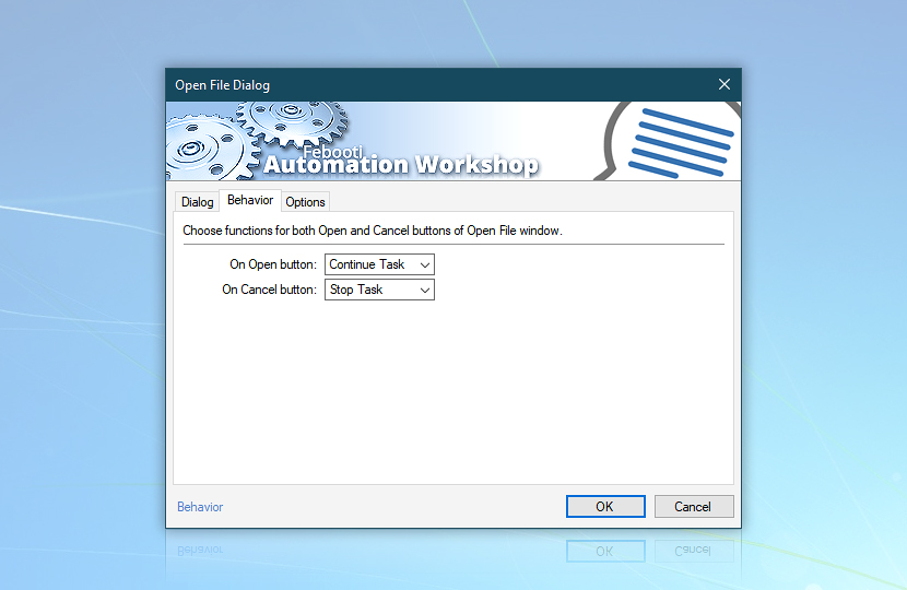 Open File Dialog · Behavior