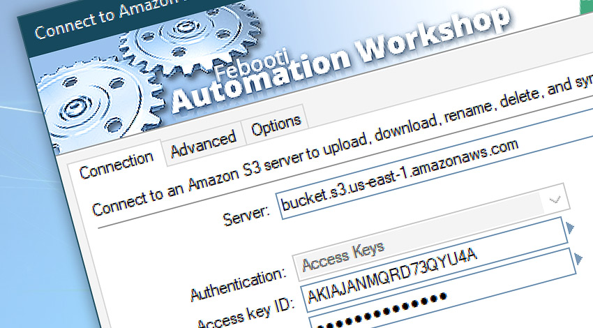 Connect to Amazon S3