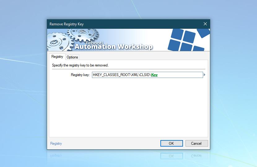 Remove Registry Key · Registry