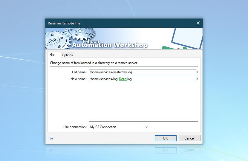 Rename remote file · File