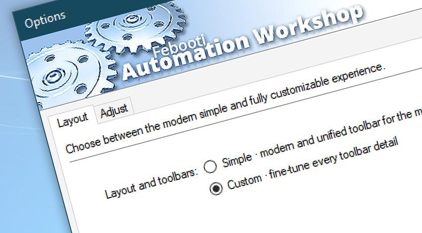 Customize Automation Workshop