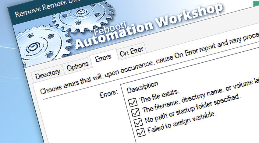 Remove Remote Directory Events