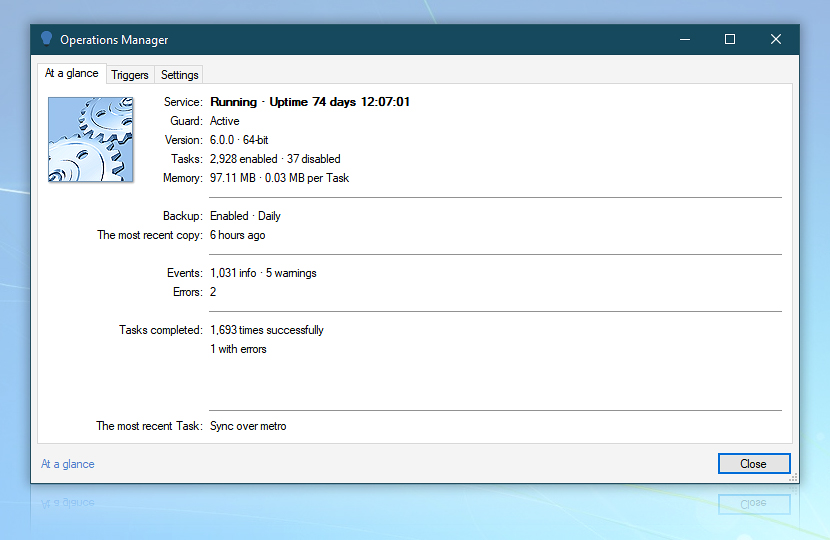 Operations Manager · Automation Workshop screenshot