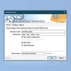 Preview of WebDAV watcher
