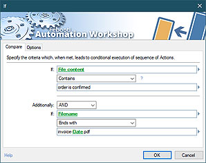 Automate action · If