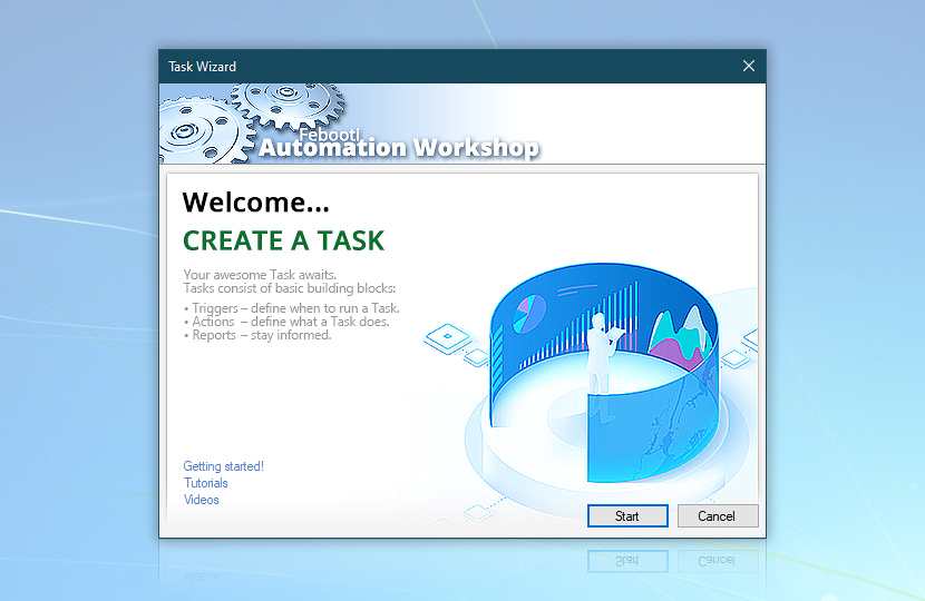 Task Wizard · Welcome