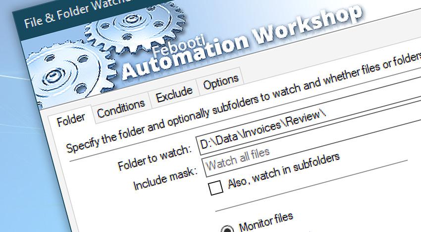 File & folder watcher