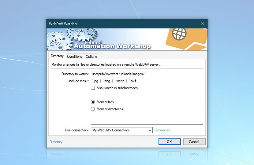 WebDAV watcher · Directory