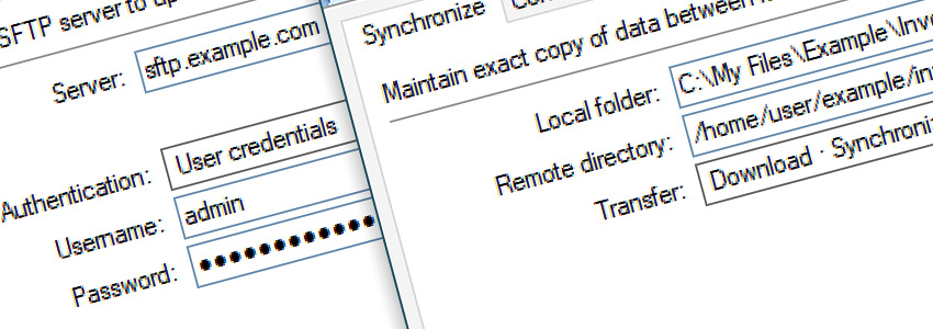 Connect to SFTP and Synchronize directories · Download