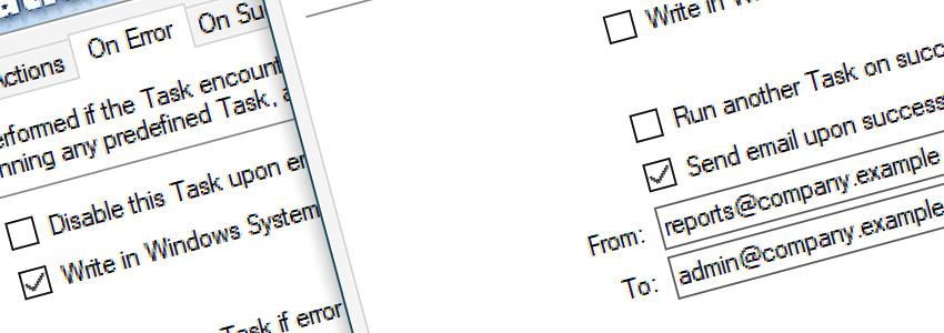 Task 'Sync Amazons AWS S3' Properties · Advanced fallback