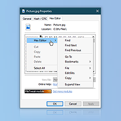 Preview of Context menu