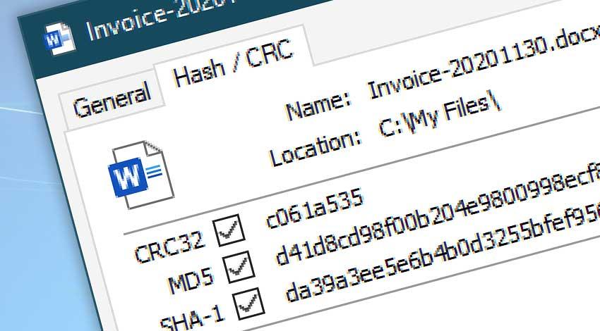 Freeware · Hash & CRC